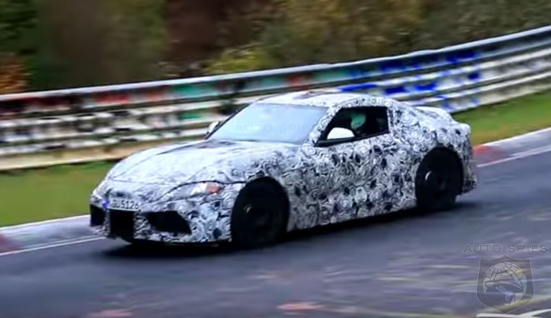 Weak Sauce: Supra Exhaust Sound Fails To Make The Grade During Nurburgring Testing