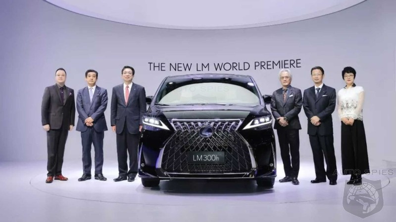 Chinese Soccer Moms Weep With Joy: Lexus Reveals First Ever Minivan