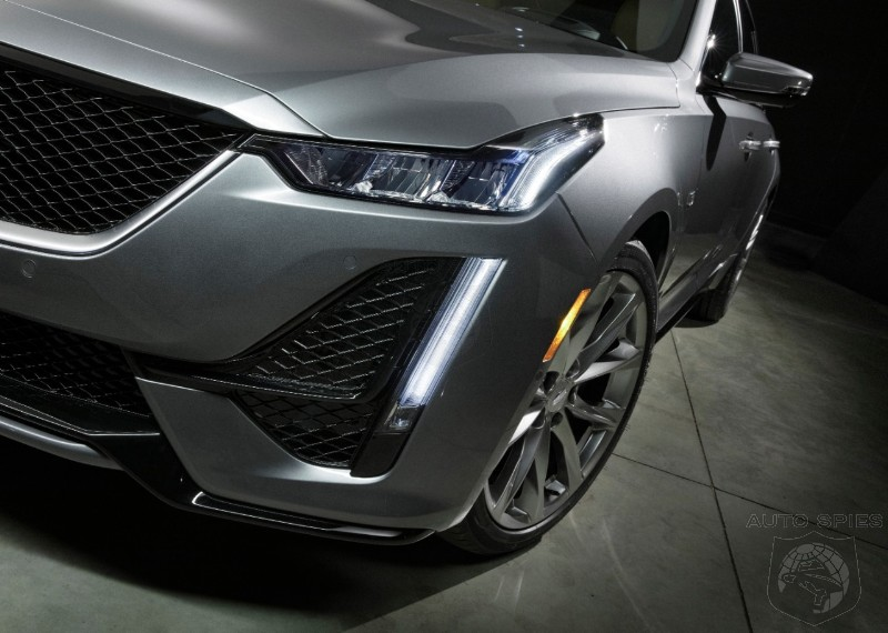 #NYIAS: Cadillac Redfines Luxury In The Mid-Sized Market With New CT-5 Sedan
