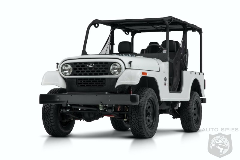 COPYCAT? Judge Agrees With FCA, Mahindra Roxor Is A Wrangler Copy Blocks Sales In US