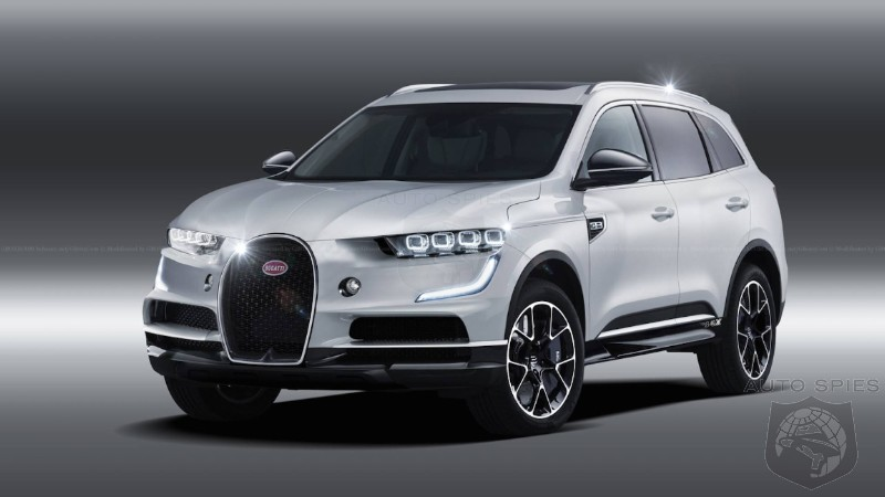Who Should Worry? Chances Are Bugatti's Second Model Will Be A SUV
