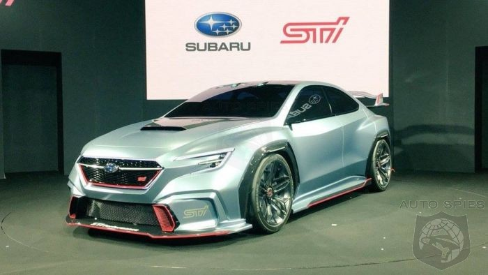 Next Gen Subaru WRX STI 2 Door Could Be Developed With Toyota