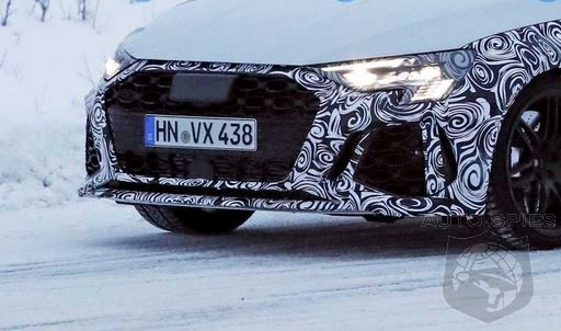 Upcoming Audi RS3 To Get 20 More HP And Golf R AWD