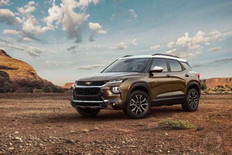 Chevrolet Upsets Segment With New 2021 Trailblazer With A ...