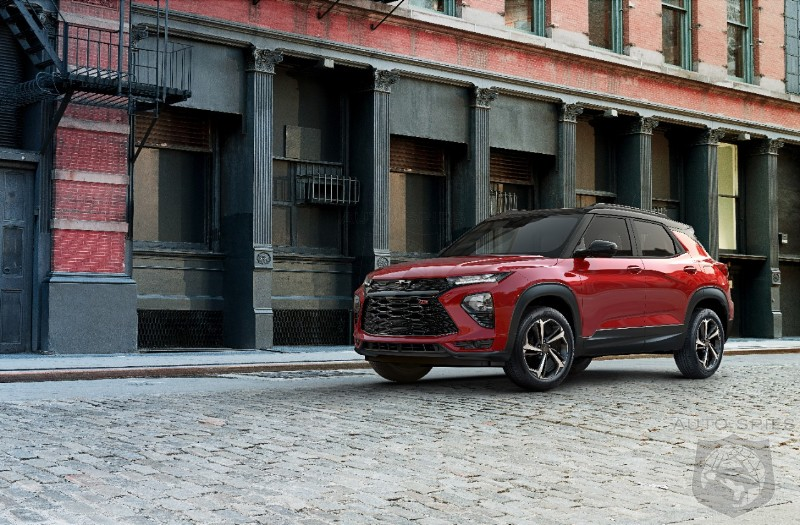 An Exercise In Mediocrity: Chevrolet's Trailblazer Debuts In A Sea Of Non-Descript Crossovers