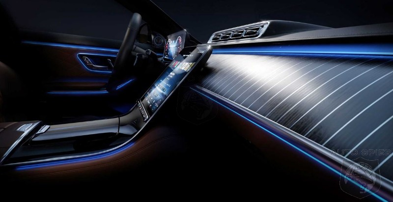 STUD OR DUD? Mercedes Brings High End Ambient Lighting To The Interior Of The New S-Class