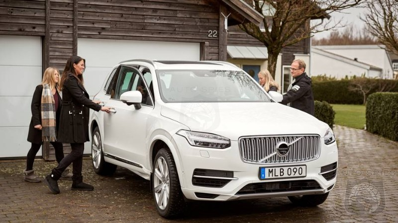 Volvo Counting Of Self Driving Vehicles To Be A Third Of Sales By 2025