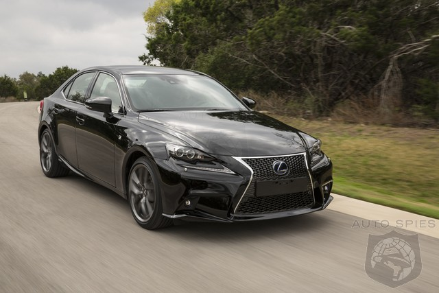 Lexus Undercuts Germans By Claiming IS300h Cost Less To Maintain Than Other Luxury Brands
