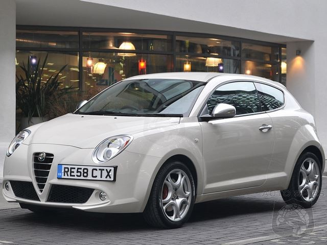 Alfa Romeo Mito To Launch Along Side 4C Sports Coupe