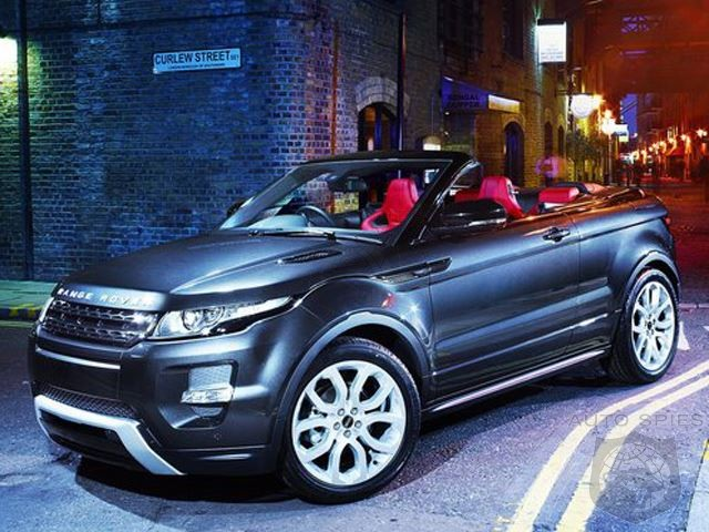 land rover green lights sexy evoque convertible autospies auto news. Black Bedroom Furniture Sets. Home Design Ideas