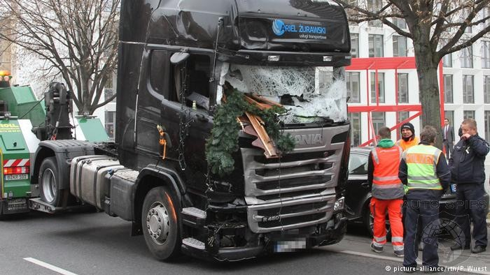 Berlin Terrorist Attack Would Have Been Much Worse If Truck Wasn't Stopped By Automatic Brakes