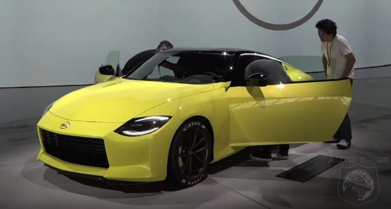 Bait And Switch? Nissan's Z Proto May Just Be A Reskinned 370Z