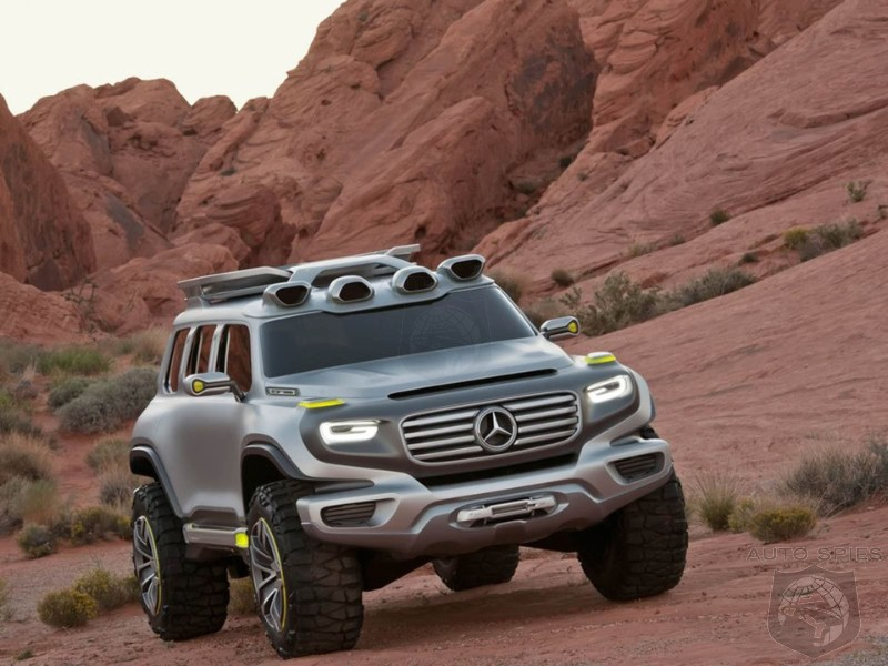 Mercedes Trademarks GLB - Are You Ready For A Rough And Tumble Little Brother To The G-Class?