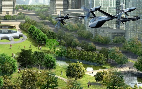 GM Exploring Flying Electric Taxis Even Though It Has Yet To Have Success In The EV Market