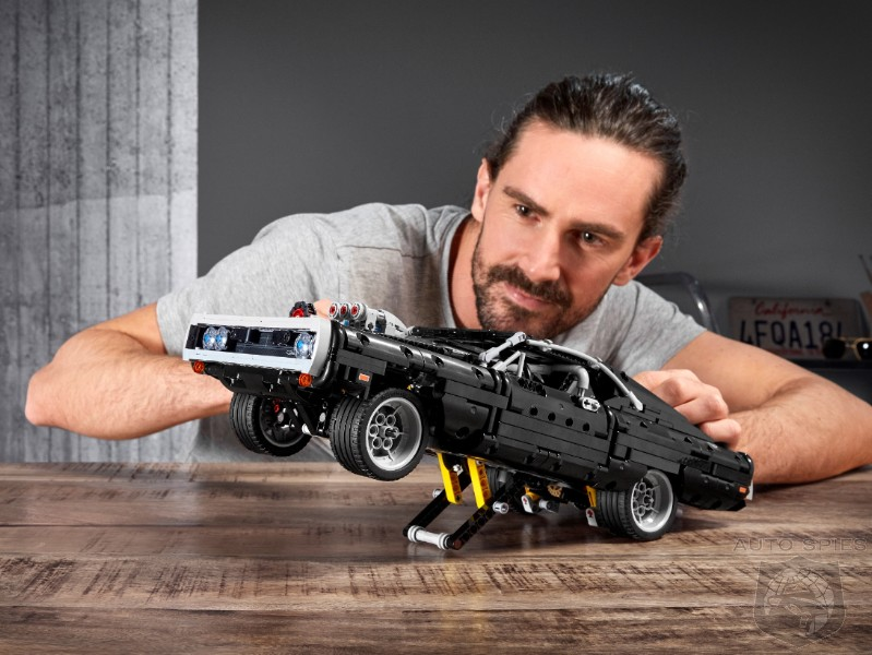 Break The Boredom: Lego Technic Makes Fast & Furious Dom's 69 Charger A Wheelie Popping Reality
