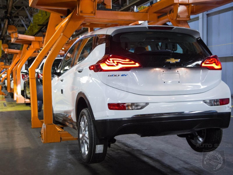 Chevrolet Increases Bolt EV Production By 20% To Meet Demand