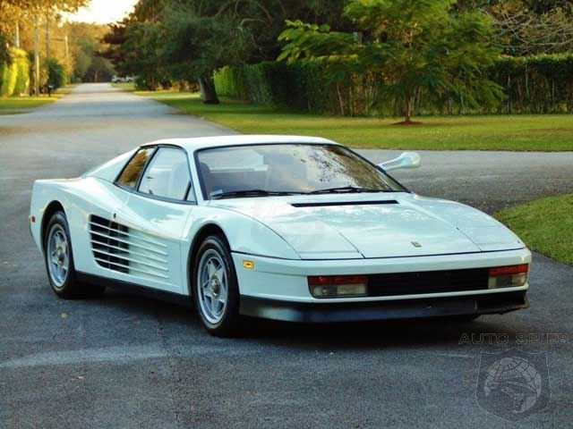 Miami Vice Testarossa Goes Up For Sale On eBay - At $1.75 Million Is It Worth The Price?