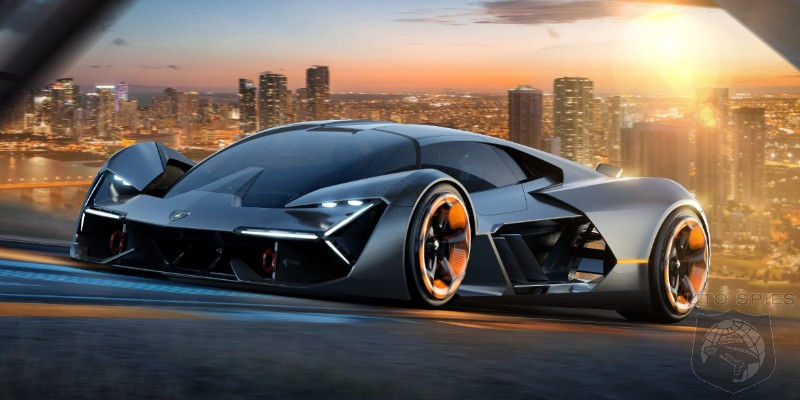 STUD OR DUD? Lamborghini Reveals Stunning All-Electric Supercar Concept