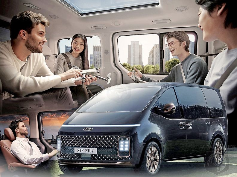 Hyundai's New Vision Of  The People Mover Category With Staria Concept