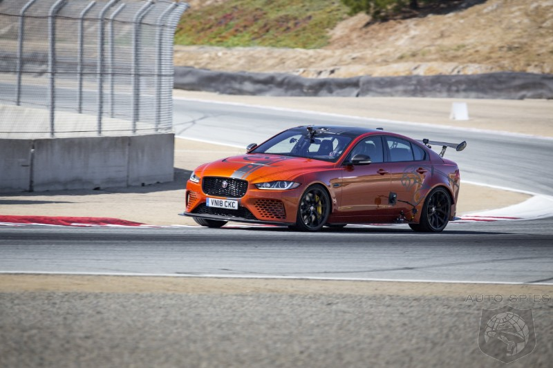 Laguna Seca Laps Prove The Jaguar XE SV Project 8 Is Fast, VERY FAST