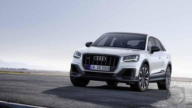 300 HP Audi SQ2 Comes Out Of The Closet Ahead Of Paris Debut