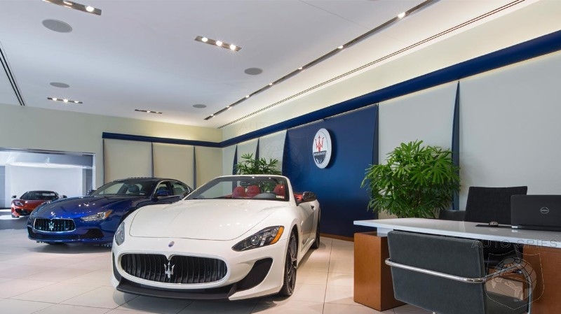Maserati To Leverage BMW's Self Driving Technology In Future Vehicles