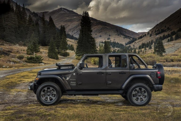 2020 Wrangler To Get Hybrid V6 Option And New 4 Cylinder Powertrain