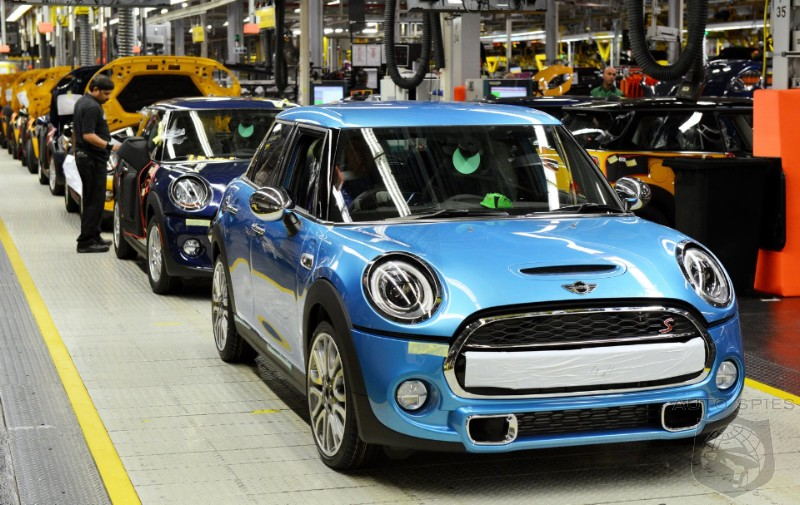 Mini And Rolls-Royce UK Factories To Halt Production During Brexit