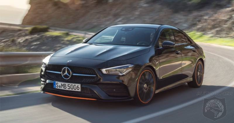 FIRST LOOK: Mercedes 2020 CLA Looks Like A Baby CLS
