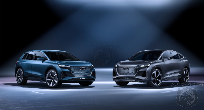 Audi Debuts It's Seventh SUV/Crossover The Q4 Sportback E-tron