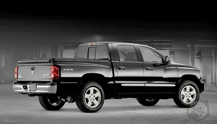 A New Dakota? RAM Midsized Truck To Be Built Along Side Of Jeep Wrangler Based Pickup