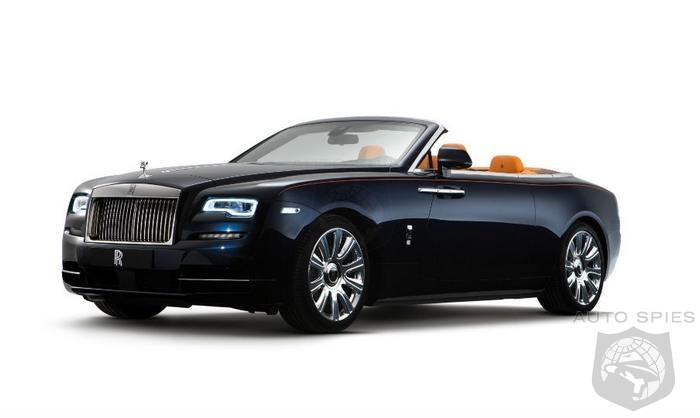 Rolls Royce Targets Younger BMW Buyers With $325.000+ Convertible - 10 Times The Price Of An Entry Level BMW