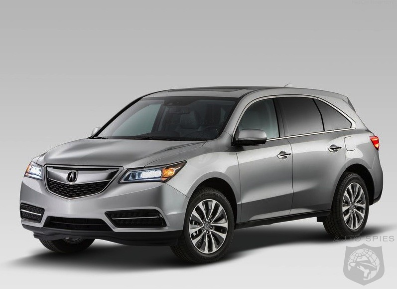 NEW YORK AUTO SHOW: All-New 2014 Acura MDX - Best Left Those Who Have A Fear Of Change?