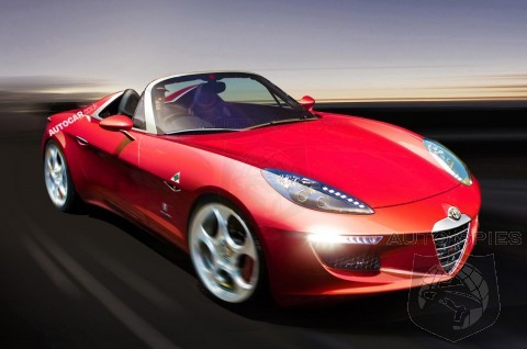 New Alfa Spider To Debut In 2015