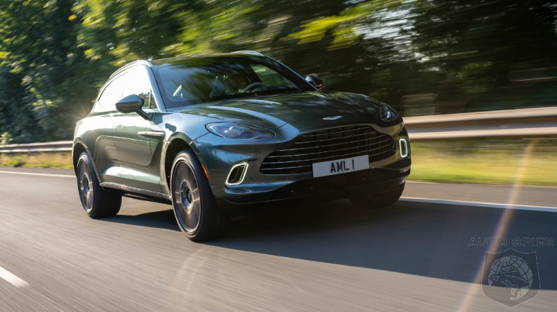 DRIVEN: Aston Martin's New DBX Gives Porsche PLENTY To Worry About