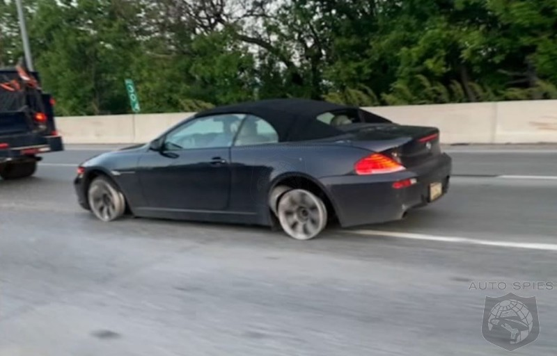 Just Another Routine Day? Philadelphia BMW Driver Takes To The Road Without Tires!