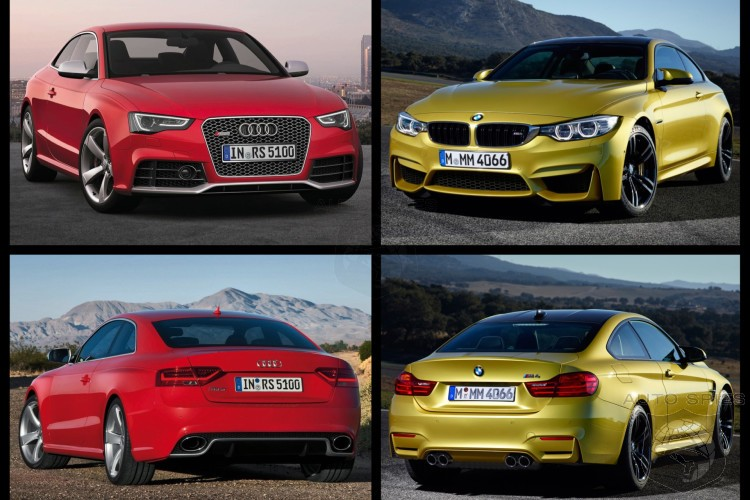 Photo Comparison: BMW M4 vs Audi RS5 - Which Is The Better Looking Beast?