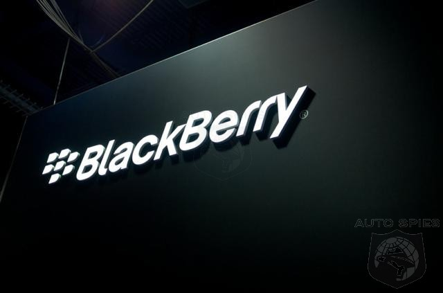 Defunct Smartphone Maker Blackberry Emerges As Key Automotive Technology Supplier