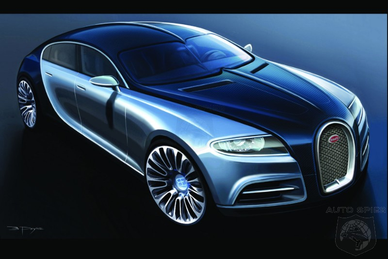 Upcoming Bugatti Galibier Promises To Top 235 MPH And Will Be The Fastest 4 Door Ever