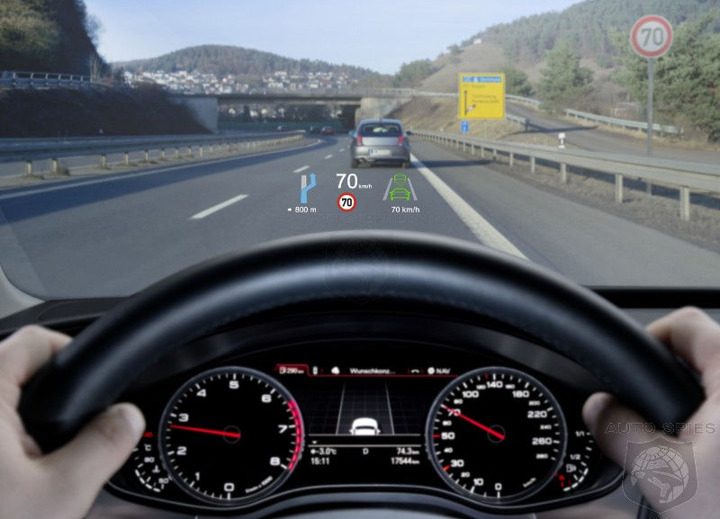 Safety Advocates Now Claim Even Heads Up Displays Are A