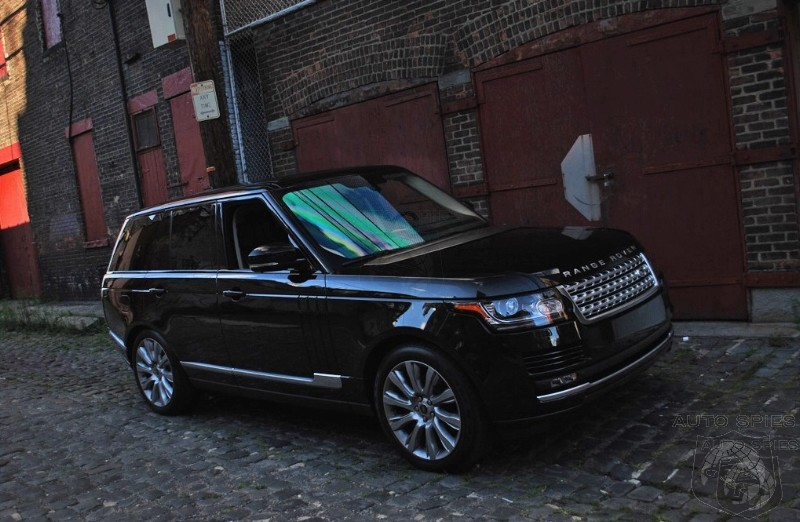 Agent00R Makes A Date With The 2014 Land Rover Range Rover