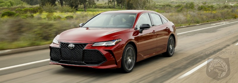 Toyota Adds Fake Engine Noise Rather Than Horsepower To Avalon For An