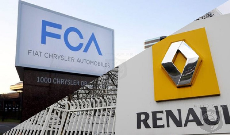 Japanese Meddling Played A Role In Collapse Of FCA And Renault Merger Deal