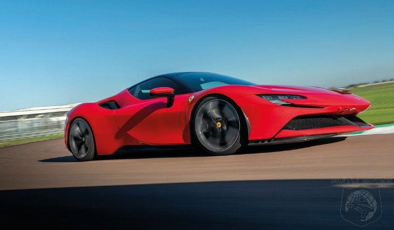 Who Knew? Ferrari's $600,000 SF90 Stradale Is Eligible For A $3500 PHEV Tax Credit
