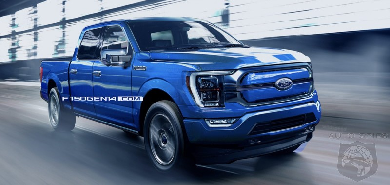2022 Electric F-150 Rendered  - Are They On the Right Track?
