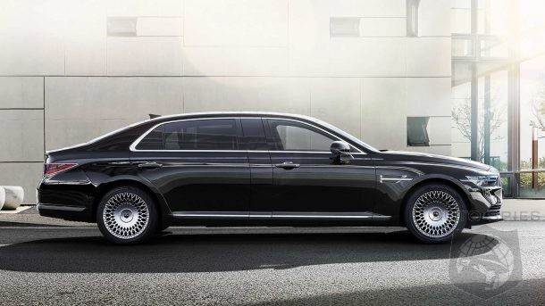 Genesis Moves Into Maybach Territory With Extended Wheelbase G90