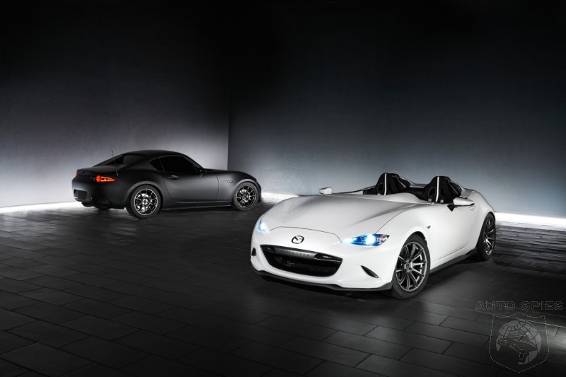 #SEMA: Mazda Keeps The Purist Dream Alive With The MX5 Speedster Evolution And RF Kuro Concepts