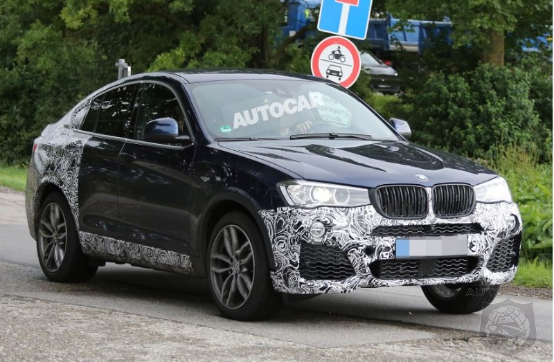 BMW Already Hard At Work On Performance X4 Crossover