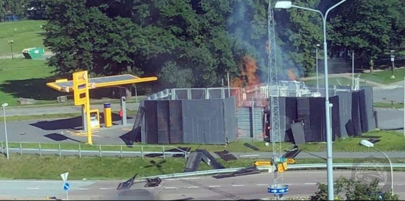 Hydrogen Refueling Station Explodes In Europe - Are Toyota's And Hyundai's Hydrogen Programs Now Toast?