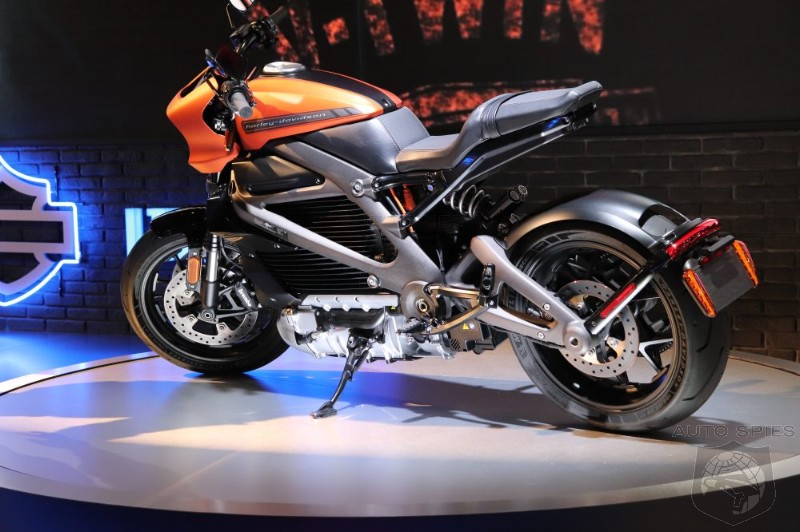 Harley Davidson Unveils Production Ready EV, But It Isn't What You Would Expect